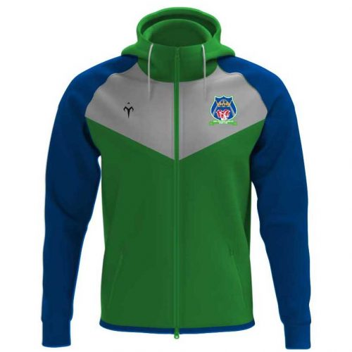 Royal Rambler Rugby Zip Up Hoodie